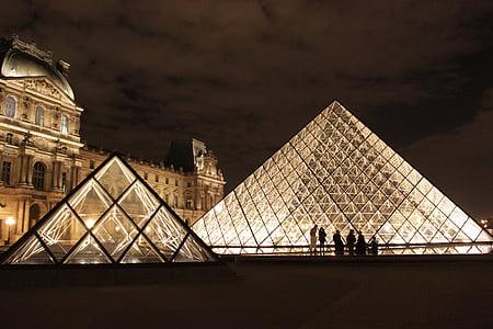 Pariis, Prantsusmaa, louvre, reisi sihtkohad, arhitektuur, ajalugu, Travel