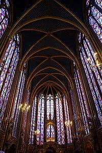 Vitrall, color, colors, vidre, l'art sagrat, l'església, vidre de color