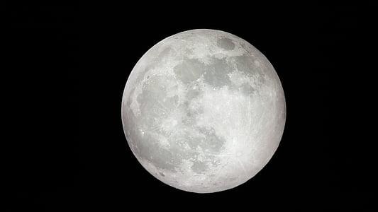 mesiac, Solárne, priestor, Astronómia, Nebeská, noc, planéta - priestor