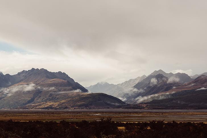 nevoeiro, paisagem, montanha, natureza, ao ar livre, cênica, neve