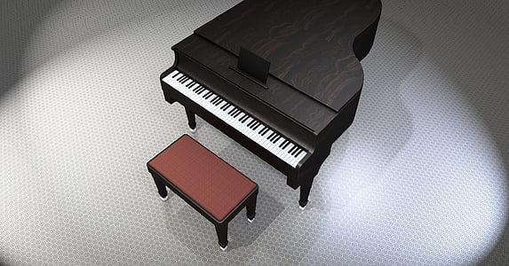 klaver, tiib, muusika, vahend, klaver klahve, klahvpillid, klaver klaviatuur