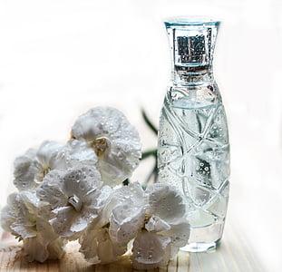 Hajusteiden, pullo, lasi, kosmetiikka, tuoksu, hajuvesipullo, spray