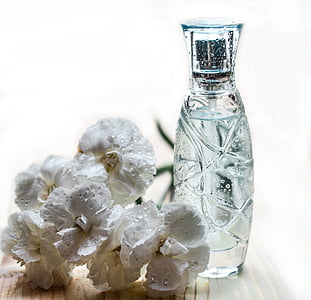 Parfüm, üveg, üveg, kozmetikumok, illat, parfümös üveg, spray