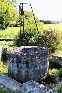 bé, pou de pedra, França, les granges, Charente, l'aigua, pre