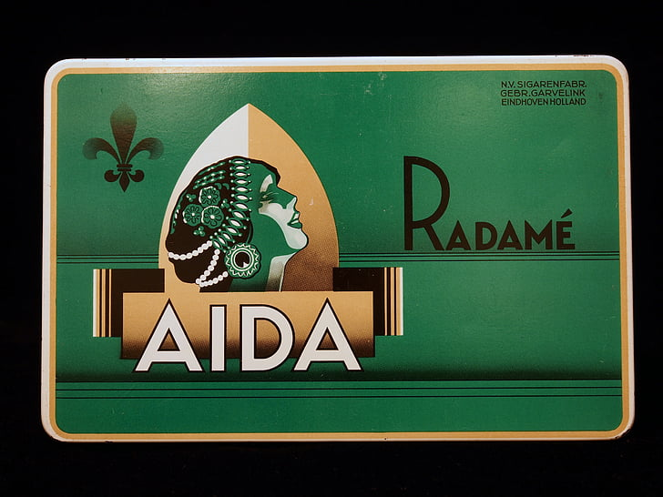 Aida radamé, cigarrer, Box, paketet, tobak, cigarett, nikotin
