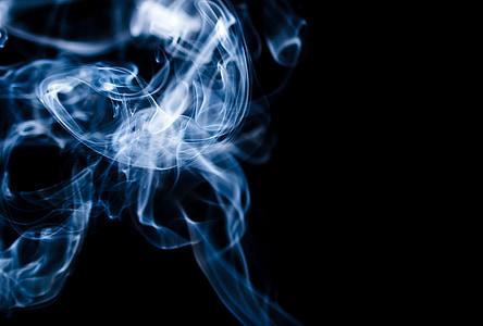 dim, pozadina, Sažetak, pozadina, dim - fizičke strukture, krivulja, oblik