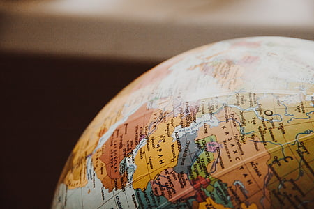 en forma de bola, negoci, close-up, comerç, continent, país, terra