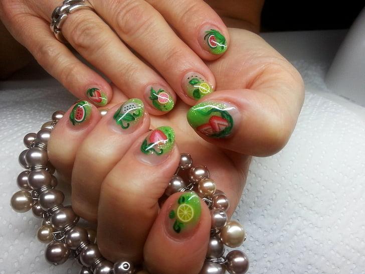 les ungles, disseny d'ungles, manicura