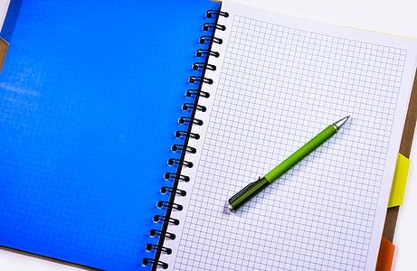 máy tính xách tay, bút, bút chì, giáo dục, văn phòng, kinh doanh, bằng văn bản