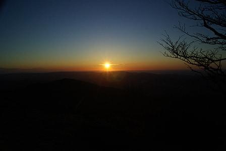 solen, Dawn, Sky, soluppgång, solnedgång, sommar, landskap