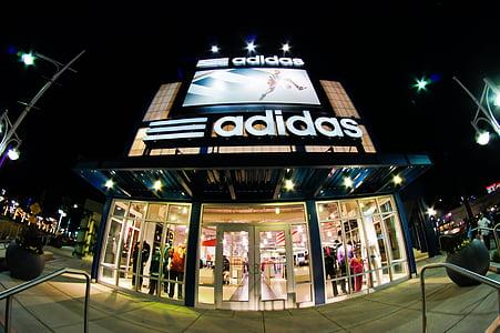 Adidas, Atlantic city, compres, ull de peix, botiga, botiga