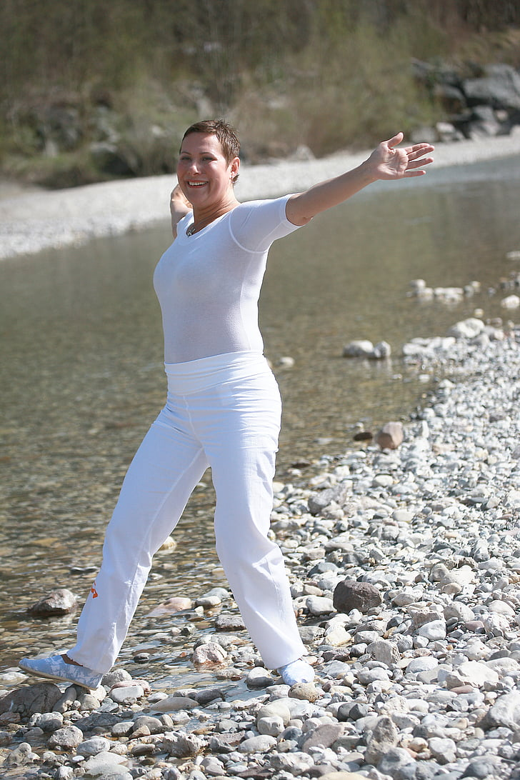 Txi-Kung, calma, Qigong, l'espiritualitat, fernöstlich, Parc, meditar