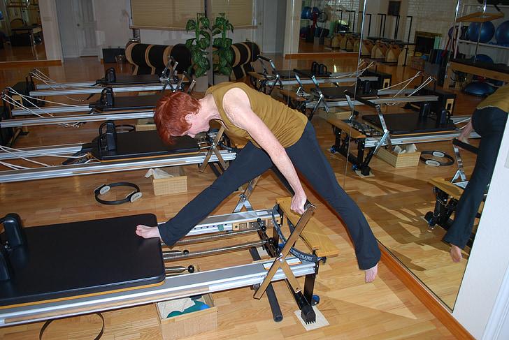 Pilates, styrke, kroppen, Øvelse, Fitness