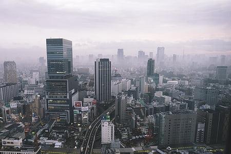 bangunan, Kota, pemandangan kota, cityscrapers, Gedung-gedung bertingkat, pencakar langit, puas