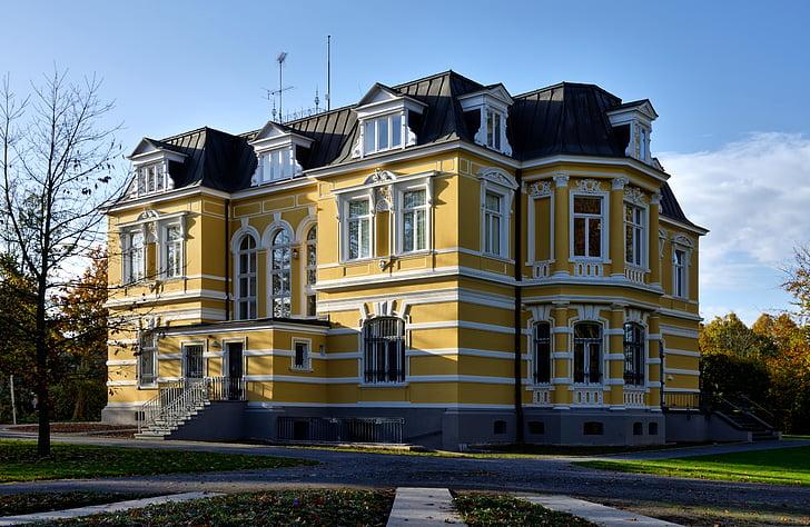 erckens villa, architecture, building, historically, grevenbroich, villa