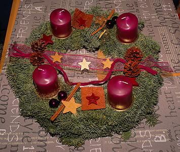 Advent, Advent pärg, Küünlad, jõulude ajal, kokkuleppe, teenetemärgi, jõulud Ehted