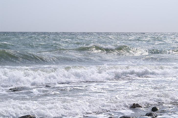 sea, mood, water, nature, beach, coast, longing