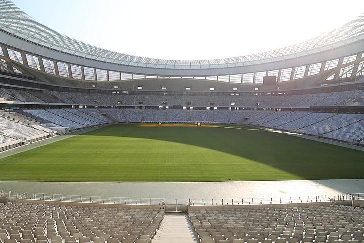 Estadi de futbol, Estadi, Auditori, tribuna, ciutat cap, Sud-àfrica