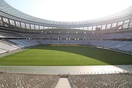 football stadium, stadium, auditorium, grandstand, cape town, south africa