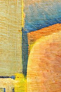 el marc, dibuix, color, textura, pintura, paret, Carlota