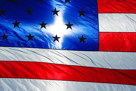 cờ Mỹ, ánh sáng mặt trời, ngôi sao, ánh nắng mặt trời, Hoa Kỳ, lá cờ, lòng yêu nước