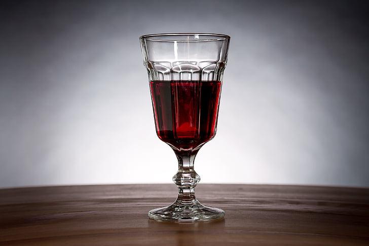 veini, punane vein, klaas, Cup, jook, veini klaasi, must ja valge