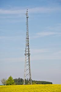 라디오 타워, 라디오 돛대, 송신 탑, 스카이, 안테나, 라디오, 안테나 마스트
