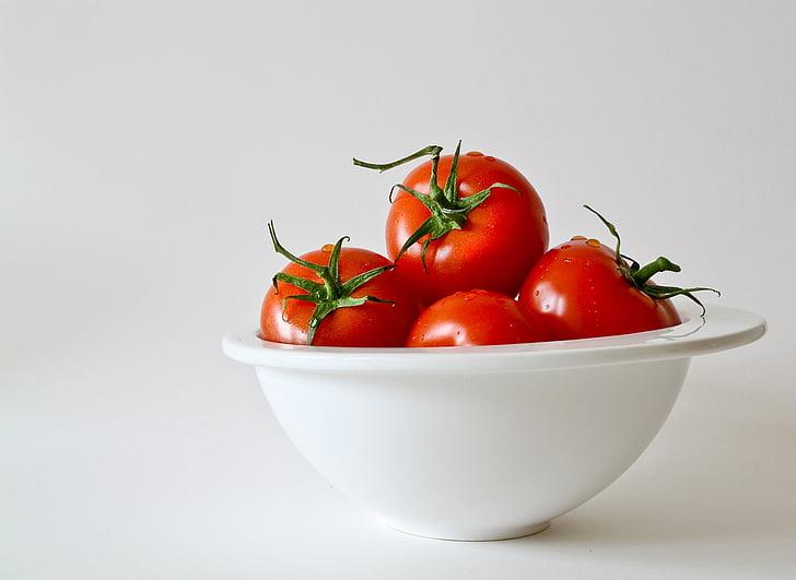 tomaten, groenten, voedsel, Frisch, rood, keuken, koken