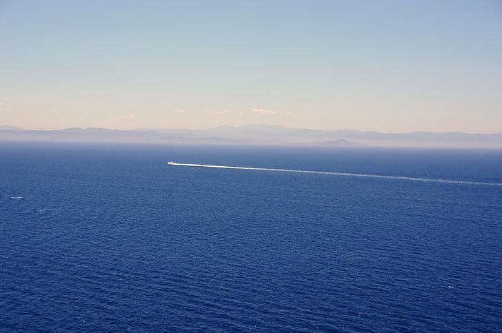 l'aigua, Mar, oceà, estat d'ànim, blau