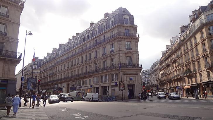 Pariis, Bulevar, arhitektuur, linnaehituses, Paris street