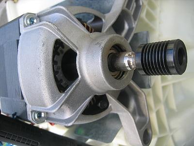 masina de spalat, motor, bloc motor, metal, cu maşina, tehnologie, masina