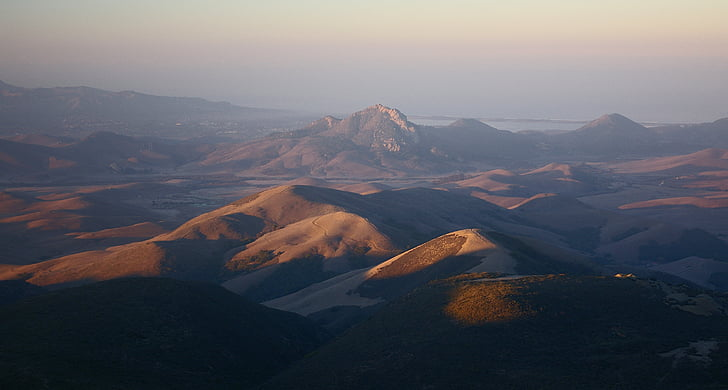 Blue Dağları, gün ışığı, manzara, açık havada, doğal, vadi, Volkan