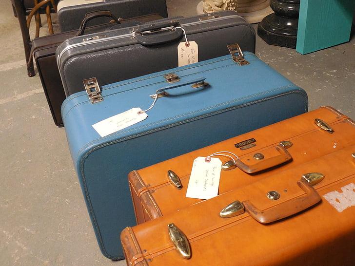 zavazadlo, kufr, cestování, cesta, taška, cesta, zavazadla