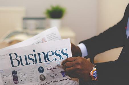 бізнес, газета, Папір, інформація, Новини, офіс, публікації