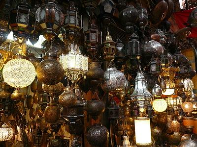 โคมไฟ, แสง, โคมไฟ, บาซาร์