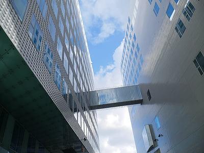 arhitektuur, kaasaegne, Moodne arhitektuur, fassaad, hoone, Vitraaz aken, ere