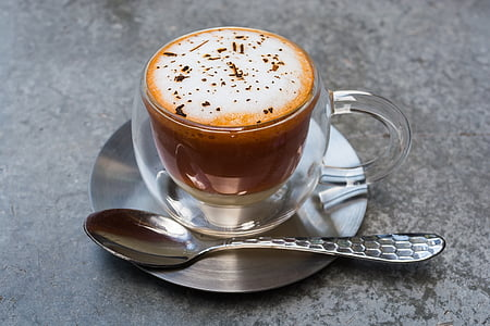 minuman, kafein, cappuccino, kopi, kopi mug, kedai kopi, Piala