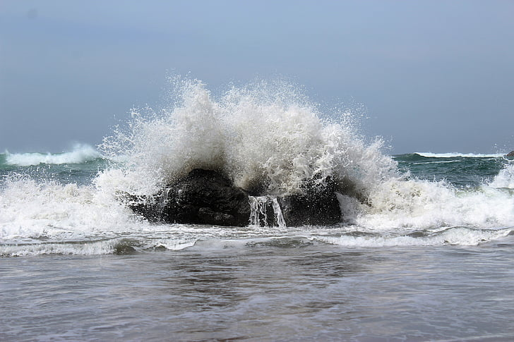 smadre wave, Ocean, bølge, havet, dag, ingen mennesker, udendørs