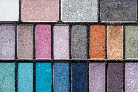 ombra d'ulls, estructura, fons, color, cosmètica, xerrada, minerals suaus
