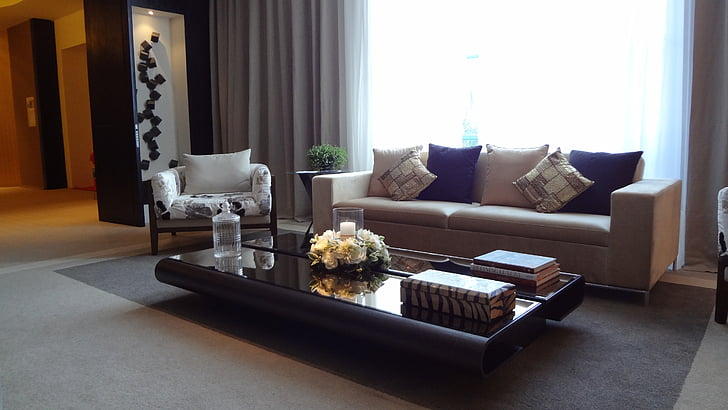 svetainė, sofos, apdaila, Casa RK