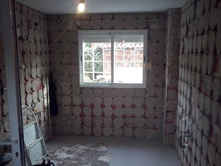 reparatie, Indoor, badkamer