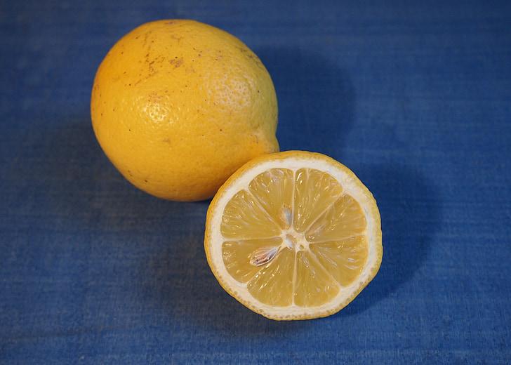 llimona, groc, fruita