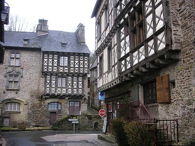 medieval, poble, vila medieval, cases, vell, històric, Cases de pedra