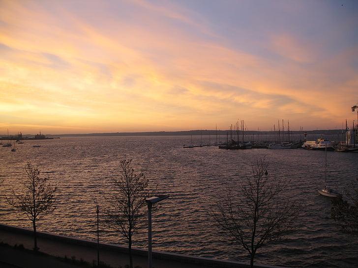 Alba, Costa, atmosfèrica, morgenstimmung, l'aigua, romàntic