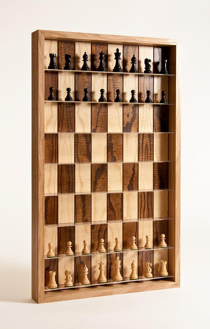 Male, vertikaalne malelaual, 3D male, vertikaalne, mäng, chessman, malelaual