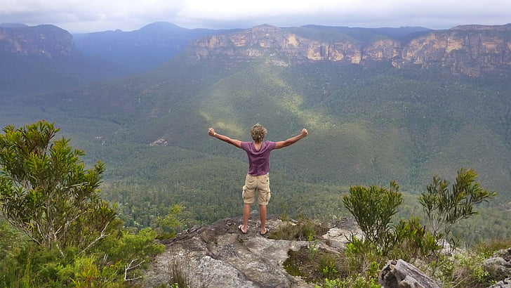 Dom, Blue Dağları, Avustralya, dağlar, macera