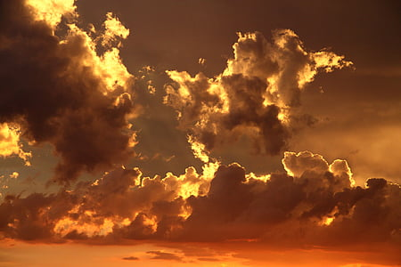 moln, Dawn, skymning, naturen, Sky, soluppgång, solnedgång