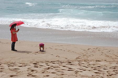 Jungmun, Jeju, Ile, Corea del sur, Playa, verano, mar