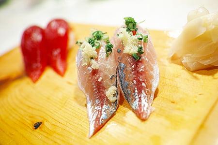 aliments, sushi, Restaurant, menjar japonès, aliments de Japó