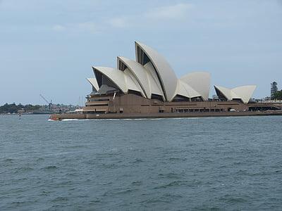 Сідней, порт, море, Австралія, місто, Opera, Будівля